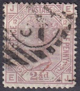 Great Britain #67 Plate 12 F-VF Used CV $60.00 Z39