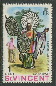 St Vincent - Scott 264 - Carnival Celebrations -1969 - MNH - Single 1c Stamp