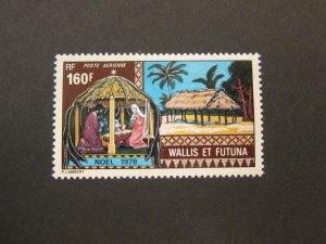 French Wallis and Futuna Islands 1978 Sc C83 Christmas Religion set MNH