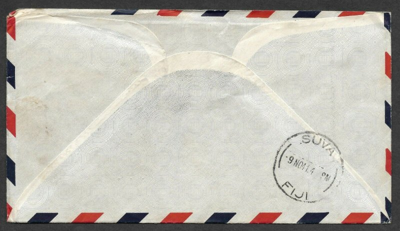 Doyle's_Stamps: San Francisco - Fiji  Yankee Clipper First Flight Cover 1941