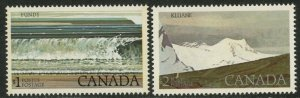 CANADA Sc#726-727 1979 Fundy & Kluane National Parks High Values OG Mint NH