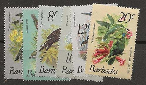 Nickel Auction. Barbados 496-501  [ca07]