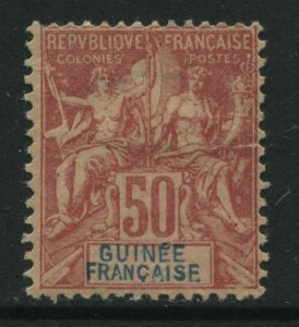 French Guinea 1892 50 centimes mint o.g.