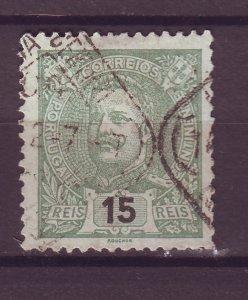 J25486 JLstamps 1895-1905  portugal used #114 king