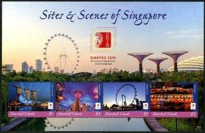 HERRICKSTAMP NEW ISSUES MARSHALL ISLAND Singpex 2019 Singapore Sheetlet