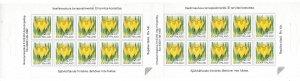 Finland 1990-99 Flower Booklet Sc 836a MNH C5