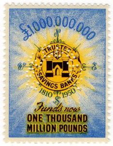 (I.B) Cinderella Collection : Trustee Savings Bank £1,000,000,000