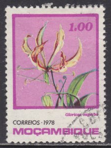 Mozambique 593 Gloriosa Superba 1978
