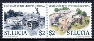 St. Lucia - Scott #895 - MNH - SCV $10