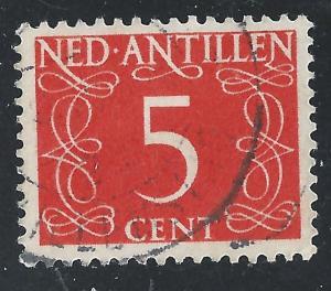 Netherlands Antilles #213 5c Numeral