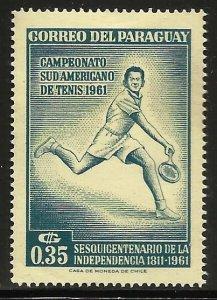 Paraguay 1962 Scott# 630 MH