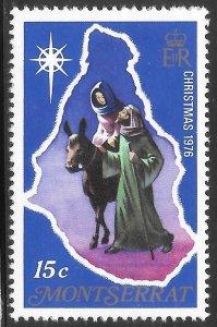 [21929] Montserrat Mint Never Hinged