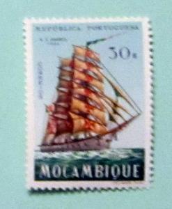 Mozambique - 454, MNH. Training Ship. SCV - $4.00