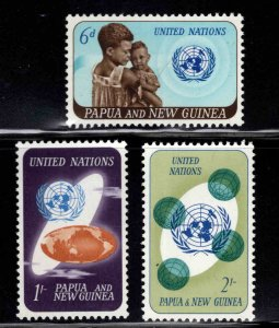 Papua Scott 206-208 UN set MNH**