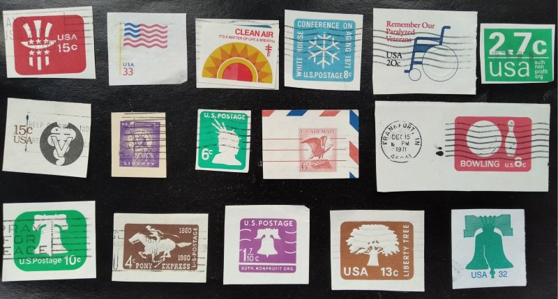 USA, Clippings, collection