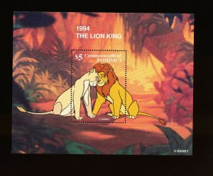DOMINICA - Scott 2063  VFMNH - DISNEY - LION KING  - 1998