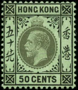 Hong Kong Scott #142 Mint