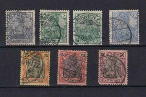 EARLY GERMAN REICHSPOST STAMPS  REF R629