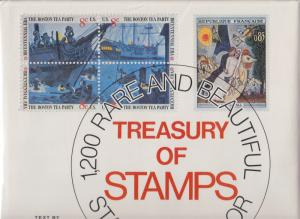 Treasury of Stamps, by David Lidman. 1200 RARE Stamps.