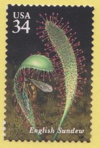 3531 Carnivorous Plants F-VF MNH single