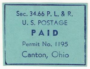 Permit Mail Cut Square