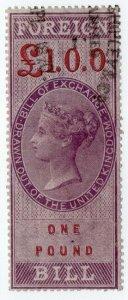 (I.B) QV Revenue : Foreign Bill £1