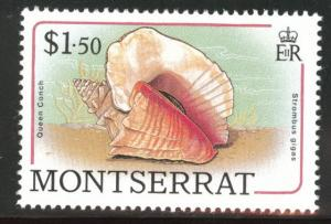 Montserrat Scott 692 MNH** sea shell 1988 stamp