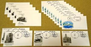 Bellingham WA Collection of Stamped Envelopes 19qty