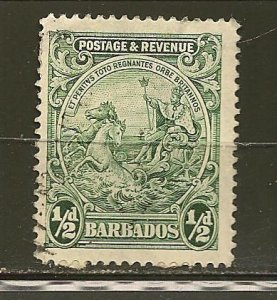 Barbados 153 Seal of Colony Used