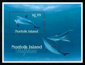 [99432] Norfolk Island 1997 Marine Life Dolphins  MNH