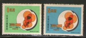 Taiwan Stamp Sc 1677-1678 Asian Productivity MNH