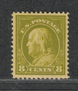 US Sc#414 M/H/VF-EF, Cv. $37.50