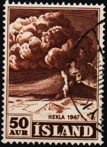 Iceland. 1948 50a S.G.283 Fine Used