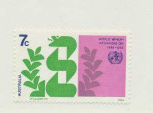 Australia Scott #545, Mint Never Hinged MNH, World Health Organization (WHO) ...