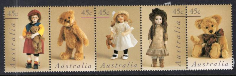 Australia 1601a Dolls Teddy Bears MNH VF