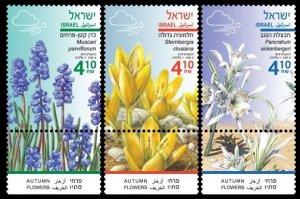 2019 Israel 2694-2696 Flowers