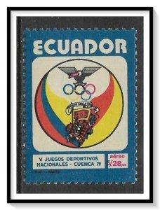 Ecuador #C660 Airmail MNH