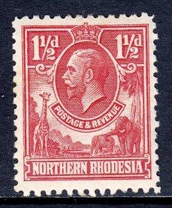 Northern Rhodesia - Scott #3 - MH - SCV $3.75