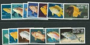 PITCAIRN ISLANDS SG246/58 1984 FISH MNH