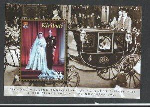 Kiribati souvenir sheet  mnh  sc. #  907