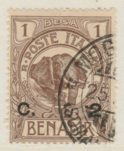 Somalia 1906-07 2c su 1b Usato Italia Colonie Italy Colony A18P14F203