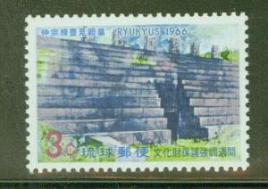 RYUKYU Scott 149 MNH** Nakasone Tomb 1966