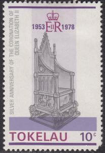 Tokelau Islands 62 King Edward's Chair 1978