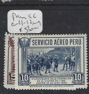 PERU  (P2505B)  A/M  SC C11-2   MOG
