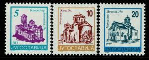 Yugoslavia SC# 2322-2324, Mint Never Hinged - Lot 061117