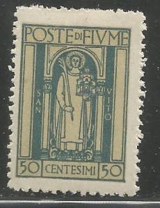 FIUME  178  MINT HINGED,  ST. VITUS
