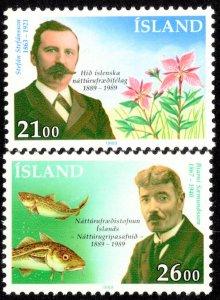 Iceland Scott 682-683 Mint never hinged.