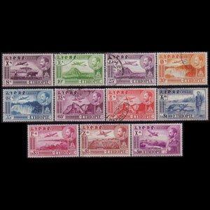 ETHIOPIA 1947 - Scott# C23-33 Views Set of 11 Used