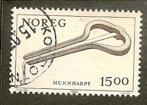 Norway            Scott  804     Jew's Harp     Used