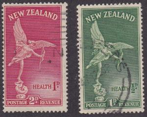 New Zealand # B30-31, Statue of Eros, Used Set